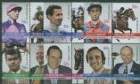 AUS SG2741a-9a Australian Legends (11th series): Horse Racing set of 12 in blocks of 4